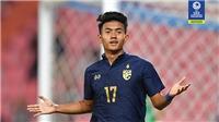 Sao trẻ Thái Lan: 'U23 Thái Lan không cảm thấy áp lực trước U23 Iraq'
