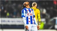 Văn Hậu lại không đá phút nào khi Heerenveen thua AZ Alkmaar trên sân nhà