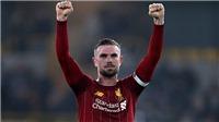 Liverpool nhận tin dữ về Jordan Henderson
