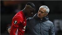 Pogba để mở khả năng rời M.U, thừa nhận mối quan hệ căng thẳng với Mourinho