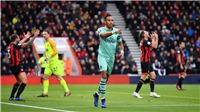 Bournemouth 1-2 Arsenal (KT): Aubameyang lên tiếng đúng lúc, Arsenal vất vả giành chiến thắng