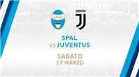 SPAL 2-1 Juventus (KT): Thi đấu bạc nhược, Juve không thể sớm lên ngôi