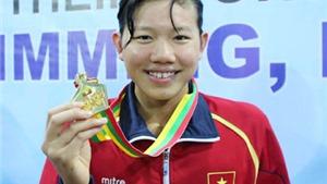 Phá 2 kỉ lục SEA Games của VĐV chủ nhà, báo Singapore gọi Ánh Viên là 'hiện tượng'