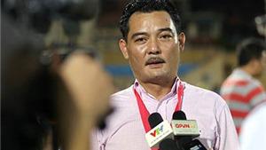 Chủ tịch Hà Nội T&T Nguyễn Quốc Hội: 'Vấn đề của chúng tôi chỉ là khán giả'