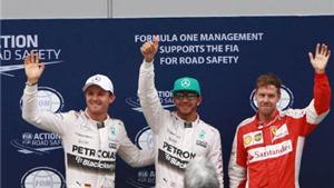 Phân hạng Malaysian GP: Hamilton giành pole trong mưa lớn ở Sepang