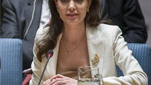 Angelina Jolie kêu gọi các cường quốc thế giới giải quyết xung đột ở Syria