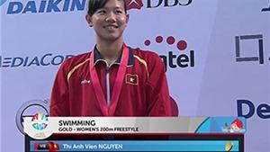 Ánh Viên sau khi giành 6 HCV: 'Ngày mai, em vẫn tiếp tục bơi...'