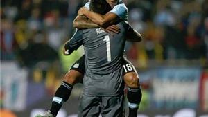 Argentina 5-4 Colombia (penalty): Tevez trở thành 'người hùng', Argentina vào Bán kết