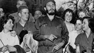 Ngắm lại những bức ảnh đầy hào sảng về Fidel Castro trên đất Mỹ
