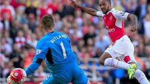 Vòng 5 Premier League: Walcott và Giroud ghi bàn, 'Pháo thủ' giành 3 điểm. Man City thắng tối thiểu