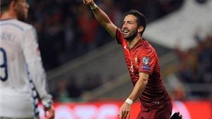 Bồ Đào Nha 1-0 Đan Mạch: Moutinho tỏa sáng, BĐN giành vé tới Pháp với ngôi đầu bảng