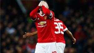 Man United 0-0 Middlesbrough: Rooney đá hỏng luân lưu, Quỷ đỏ bị loại