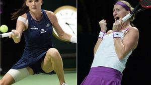 Chung kết WTA Finals Kvitova (5) - Radwanska (6): Lại có bất ngờ?