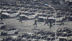 Động đất Nepal, vụ nổ Thiên Tân... là những thảm họa tốn kém nhất 2015