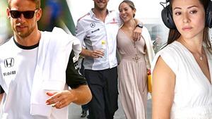 Jenson Button ly hôn siêu mẫu, sớm trở về con đường ăn chơi sa đọa?