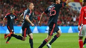 Benfica 2-2 Bayern Munich (tổng 2-3): Mùa thứ 5 liên tiếp vào Bán kết