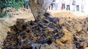 KẾT LUẬN: Chất thải Formosa chôn trái phép là nguy hại, bàn giao hồ sơ cho công an