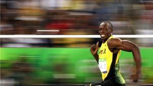 Xem Usain Bolt THẮNG DỄ ở bán kết 200m nam