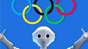 Tại Olympic Tokyo 2020, robot có mặt khắp mọi nơi