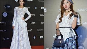 Hotgirl Midu 'đọ dáng' với Hoa hậu Đỗ Mỹ Linh