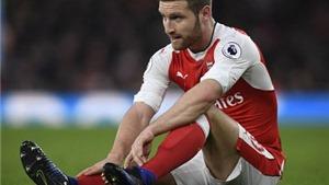 Arsenal không thể đổ lỗi thất bại vì vắng Mustafi