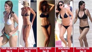 Siêu sao U60 mặc bikini khoe dáng, thiếu nữ cũng phải ngưỡng mộ