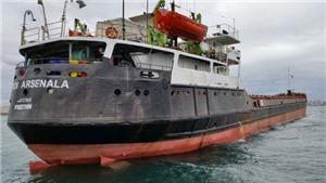 Tàu 'Anh hùng Arsenal' bị đắm ở Biển Đen, còn 7 người mất tích