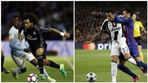 Marcelo và Alves đã vượt qua cả Carlos và Cafu?