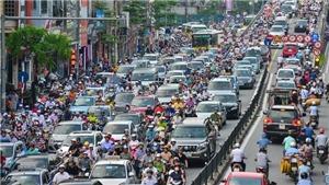 Hà Nội: Dự thảo nghị quyết cấm xe máy, thu phí xe đi giờ cao điểm để giảm ùn tắc