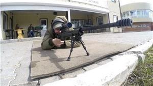 Cận cảnh uy lực súng bắn tỉa thế hệ mới của lính Nga