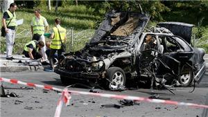 Xe Mercedes nổ tung trên phố, đại tá tình báo Ukraine thiệt mạng