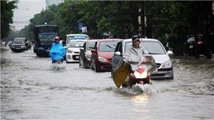 Bắc Bộ có mưa lớn diện rộng, nguy cơ ngập lụt ở nhiều nơi