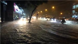 Hà Nội cảnh báo nguy cơ xuất hiện ngập úng cục bộ khi có mưa to