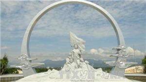 Khánh thành tượng đài chiến sỹ Gạc Ma tưởng niệm 'Những người nằm lại phía chân trời'