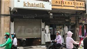 Chuyển hồ sơ vụ khăn lụa Khaisilk sang cơ quan điều tra: Dấu hiệu bán hàng giả