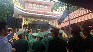 Sưởi ấm các linh hồn 21 liệt sĩ vô danh dưới chân núi Cà Tang