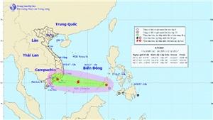 Công điện khẩn ứng phó với áp thấp nhiệt đới có nguy cơ thành bão