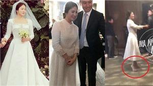 Cô dâu Song Hye Kyo vướng nghi vấn 'cưới chạy bầu'