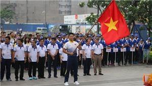 5000 người tham gia đi bộ cổ vũ đoàn Thể thao Việt Nam dự SEA Games 29