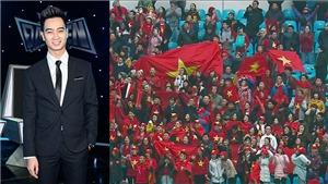 VIDEO: Slim V thức xuyên đêm làm MV tiếp thêm sức mạnh cho U23 Việt Nam