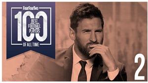 Messi thứ hai, Ronaldo 'béo' thứ 10, Kaka bị gạch tên... nhiều tranh cãi ở top 100 cầu thủ vĩ đại nhất