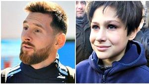 Leo Messi đốn tim fan với hành động cực đẹp trước trận gặp Uruguay