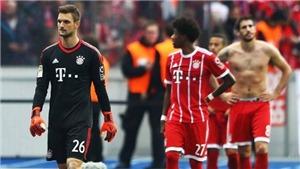 Thảm họa cho Bayern: Lại hòa trên thế thắng, Ribery có thể giải nghệ sớm