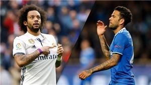 Marcelo và Alves, hai hậu vệ cánh xuất chúng nhờ futsal