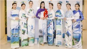 BST áo dài 'Xanh màu hy vọng' của Ngọc Hân được bạn bè quốc tế khen ngợi