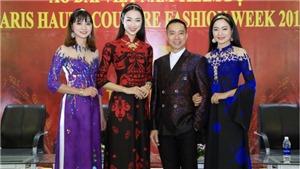 NTK Đỗ Trịnh Hoài Nam mang áo dài Việt Nam đến Tuần lễ thời trang Paris