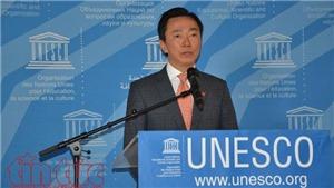 Bầu TGĐ UNESCO: Ông Phạm Sanh Châu trực tiếp vận động tại hơn 30 nước