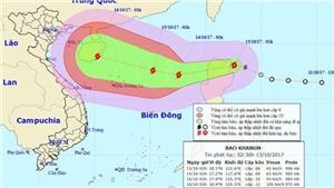 Trung Quốc ban bố cảnh báo nguy hiểm bão Khanun