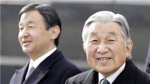Chính thức: Nhật hoàng Akihito sẽ thoái vị vào ngày 30/4/2019
