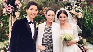 Flycam xâm nhập chụp trộm đám cưới Song Joong Ki và Song Hye Kyo